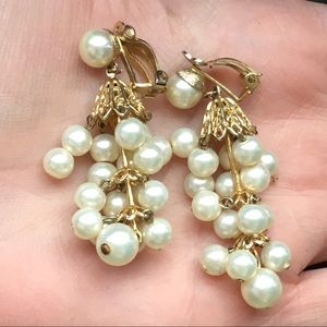 Vintage Lewis Segal, California Pearl Earrings